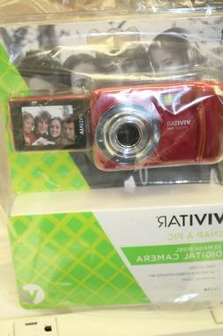 Vivitar Digital Camera - Red