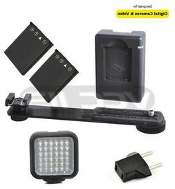 Vivitar VIV-VL-400 SLR/Photo/Video Rechargeable LED Light