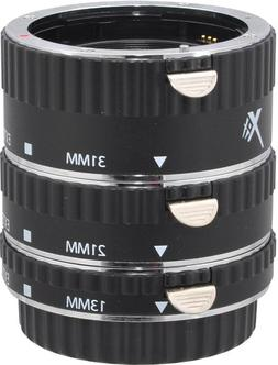 Xit XTETC Auto Focus Macro Extension Tube Set for Canon SLR