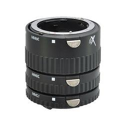Xit XTETN Auto Focus Macro Extension Tube Set for Nikon SLR