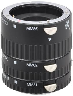 Xit XTETS Auto Focus Macro Extension Tube Set for Sony SLR C