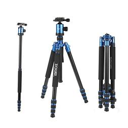 ZOMEi Z818 Hiking Tripod For DSLR Cameras Canon Nikon Sony