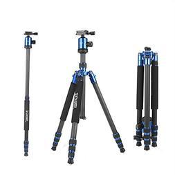 ZOMEi Z818C Carbon Fiber Camera Tripods for Digital DSLR Cam