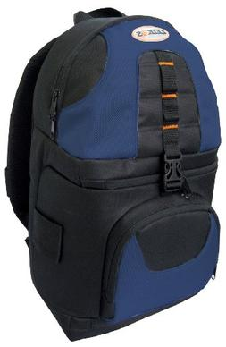 Zeikos ZE-BP2-BL Deluxe backpack for SLR and video cameras a