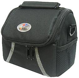 Zeikos ZE-CA38B Deluxe Soft Small Camera and Video Bag