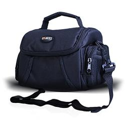 Zeikos ZE-CA48B Deluxe Padded Soft Medium Camera Case For Ca