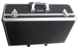 Zeikos ZE-HC52 Large Rolling Hard Case With Extra Padding Fo
