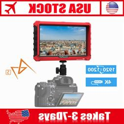 "Lilliput A7s 7"" 1920x1200 4K HDMI DSLR Camera field monitor"