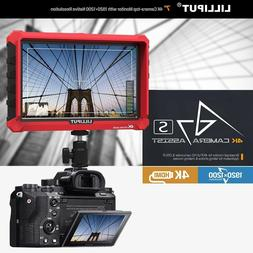 "Lilliput A7s 7"" 4K HDMI DSLR Mirrorless Camera field monitor"
