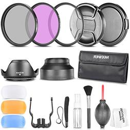 Neewer 58MM Professional Accessory Kit for CANON EOS Rebel T