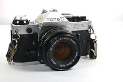 Vintage Canon AE-1 Program 35mm SLR Camera with 50mm 1:1.8 L