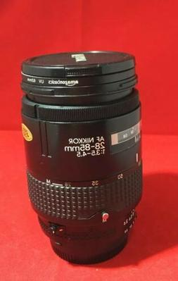 Nikon AF NIKKOR 28-85mm 1:3.5-4.5 Zoom SLR Camera Lens