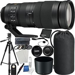 Nikon AF-S NIKKOR 200-500mm f/5.6E ED VR Lens Bundle For Nik