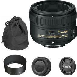 Nikon AF-S 50mm f/1.8G NIKKOR Lens for Nikon DSLR Cameras, 2