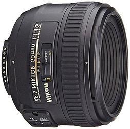Nikon AF-S FX NIKKOR 50mm f/1.4G Lens with Auto Focus for Ni