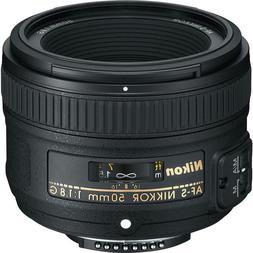 Nikon AF-S NIKKOR 50mm f/1.8G Lens for Nikon DSLR Cameras NE