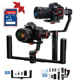 FeiyuTech Alpha a2000 Gimbal with Dual Grip Handle Kit for D
