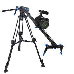 """Aluminium Alloy 31.5"""" Camera Slider DSLR Video DV Track Doll"""