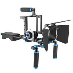 Neewer Aluminum Alloy Film Movie Rig System Kit Video Cage f