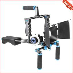 Aluminum Film Movie Kit System Rig for Canon/Nikon/Pentax/So