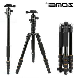 ZOMEI Aluminum Tripod Travel Monopod w/ Ball Head For DSLR C