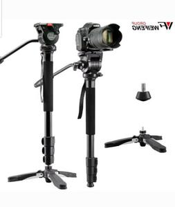 WEIFENG ALUMINUM VIDEO MONOPOD WITH SUPPORT LEGS WF-3978M