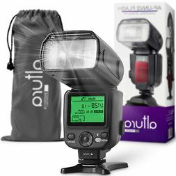 Altura Photo AP-UNV2 Camera Flash Speedlite w/ LCD Display f