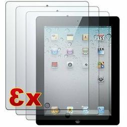 Apple iPad 2 - 3 Premium Clear LCD Screen Protector Cover Gu