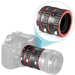 Neewer Auto Focus Macro Extension Tube Set for Canon DSLR Ca