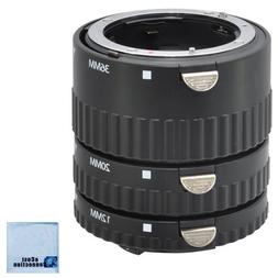 Auto Focus Macro Extension Tube Set for All Nikon SLR Camera