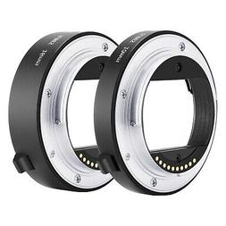 Neewer Auto Focus Macro Extension Tube Set 10mm 16mm for Son