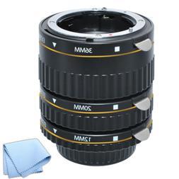 Auto Focus Macro Extension Tube Set for Nikon D3200 D3300 D5
