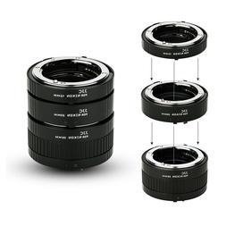 Auto Focus Macro Extension Tube Set for Nikon D850 D810 D750