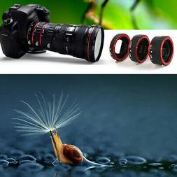 Auto Focus Macro Ring Extension Tube For Canon EOS EF-S 100D