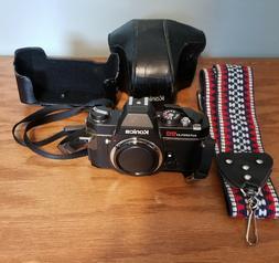 Konica Autoreflex TC 35mm SLR Film Camera Camera Body Only w