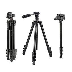 """BONFOTO B73A 58"""" Portable Aluminum Alloy Lightweight Camera"""