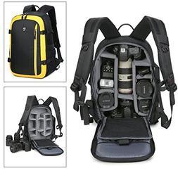 Abonnyc Camera Backpack Bag Case Oxford Hiking Bag Laptop Ba