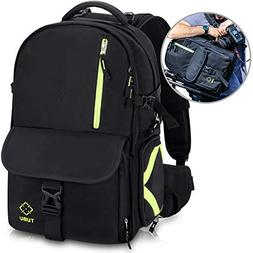 TUBU Camera Backpack Waterproof with Quick Access Dual Compa
