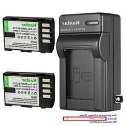 Kastar Battery AC Wall Charger for Panasonic DMW-BLF19 BLF19
