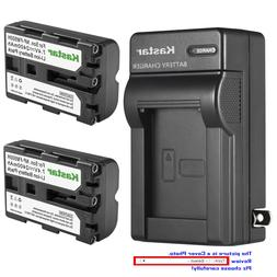 Kastar Battery AC Wall Charger for Sony NP-FM500H & DSLR-A10