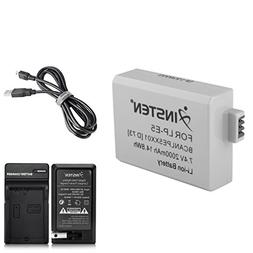 Everydaysource Battery Pack + Charger Compatible with Canon