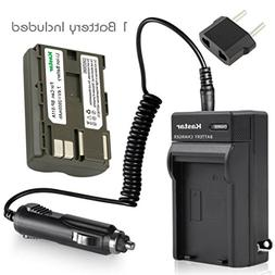 Kastar Battery and Charger for Canon BP-511 BP-511A and Cano