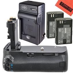 Battery Grip Kit for Canon EOS 70D, EOS 80D Digital SLR Came