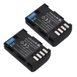 2 pack Battery For PANASONIC DMW-BLF19 DMW-BLF19E 7.2V 1860m