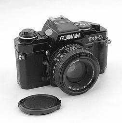 Beautiful Minolta X-570 Camera with a 50mm f1.7 Lens, EX++ C
