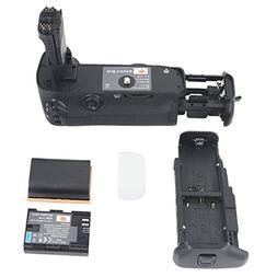 DSTE Pro BG-E11 Vertical Battery Grip + 2x LP-E6 LP-E6N for