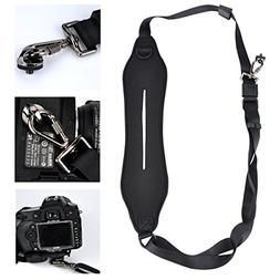 Day Gear Black Anti-Slip DSLR Cameras Neoprene Neck/Shoulder