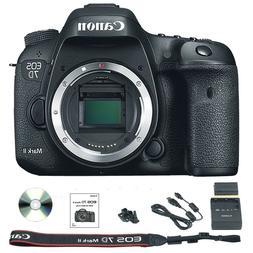 Canon Black EOS 7D Mark II Digital SLR Camera with 20.2 Mega