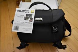 Nikon Black Nylon DSLR Camera Travel Case #11713