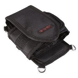 Foto4easy Black Nylon Waist Pouch Bag with Belt for DSLR Cam